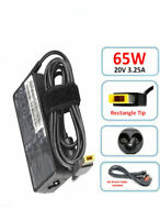 Genuine Lenovo 20V 3.25A 65W AC Adapter Power Supply Charger Square Tip