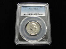 1964 Washington Silver Quarter PCGS Graded PR68