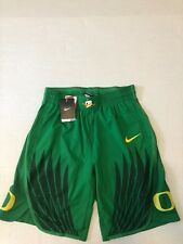 NIKE DRI-FIT Oregon Ducks Green Men's  Large Basketball Shorts NWT Authentic