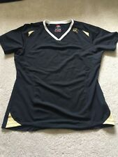 CANTERBURY BASELAYER Black T Shirt Top Activewear Sports Running Fitness Size XL