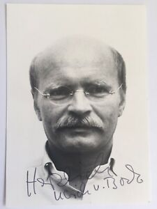 Ulrich von Bock signiert Film TV Karte ORIGINAL Unterschrift Signatur Autogramm