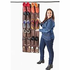 BEST OVER THE DOOR SHOE ORGANIZER FOR LARGE SHOES for Busy Men and Women, Rack &