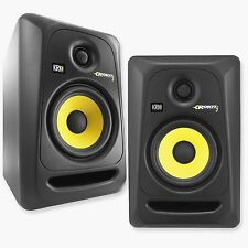 2x NEW KRK RP5G3-NA Rokit 5 Generation 3 Powered Studio Monitors Speakers (Pair)
