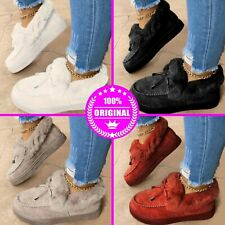 Kandylane Casual Fashion Flat Boots Comfortable Winter Cotton Shoes Thick Shoes