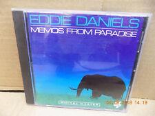 EDDIE DANIELS MEMOS FROM PARADISE MUSIC OF ROGER KELLAWAY CD FREE SHIPPING