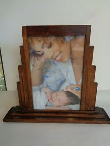 Art Deco Wooden Picture Frame
