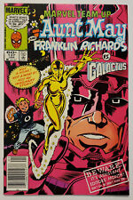 Marvel Team-Up #137 (1984) VF+ Newsstand Spider-Man & Aunt May vs Galactus