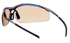 Bollé Safety Contour Métal lunettes de protection verres ESP oculaires dorés
