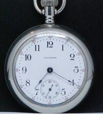 WALTHAM orologio da tasca Big Pocket Whatch primi 900 tutto funzionante