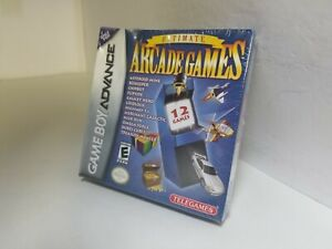 Ultimate Arcade Games NEW Sealed W/Damaged Box for Game Boy Advance System N14