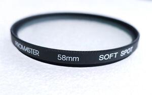 58mm PROMASTER (HOYA) Soft Spot Filter - NEW