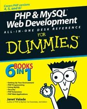 PHP and MySQL Web Development All-in-one Desk Reference For Dummies,Janet Valad