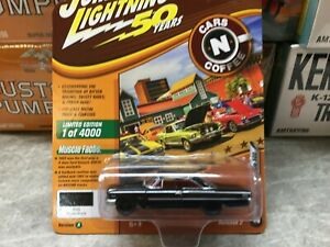 1963 Ford Galaxie 500 Johnny Lightning Muscle cars USA - Raven Black