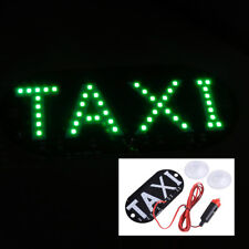 Green 12V 45 LED Cab Roof Taxi Sign Light Vehicle Inside Windscreen Lamp for Car
