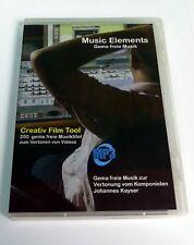Music Elements 250 x gemafreie Musik von Klassik bis Pop für die Vertonung