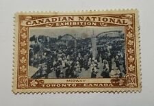 Rare 1937 Canadian National Exhibition commemorative stamp - CNE - Midway