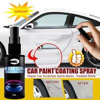 1*50ml Nano Car Scratch Remover Liquid Coating Spray Polish Scuffs Tool