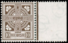 IRELAND 1922 10p BROWN MNH #75 well-centered extremely $57.50