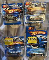 2006 Hotwheels Chrome Burnerz Near Full Set Cockney Cab, Humvee, What-4-2 Etc
