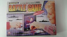 New - Magnetic Battleship Board Game - Double CD Case - Travel Car Trip Vacation