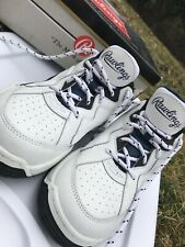 Rawlings Athletic Shoes Sneakers Mens White Size 10 White and Blue