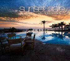 SUNSET CAFE = Kenji/Buchert/Ibizarre/Superlounger..=2CD= DOWNTEMPO AMBIENT CHILL