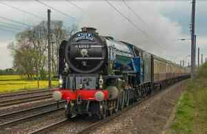 Large Canvas Of Tornado, 60163, BR Blue, Steam Train, Railway, Train, Art, Print