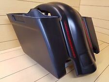 "HARLEY DAVIDSON 4"" EXTENDED SADDLEBAGS AND REAR LED FENDER FOR TOURING 1996-2013"