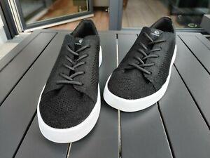 Giesswein Wool Sneaker Schwarz 44 Herren Schuh aus Merinowolle - leicht & luftig