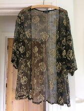New Look Evening Jacket Kimono Style Size 12