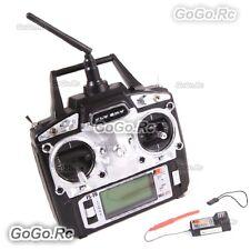Flysky FS-T6 AFHDS 2.4GHz 6CH Radio Transmitter & Receiver RC Multicopter w/box