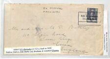 BS10 1930 Indias Holandesas marítimo Curacao Barco * El Libertador * ex hospital cubierta