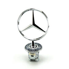 MERCEDES BENZ LOGO HOOD 3D Emblems W202 w210 W221 W208 W220 For C E S Series
