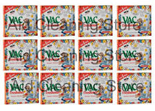 Vac Vacuum Cleaner Summer Meadow Scent Air Freshener Discs 12 x 6 Pack (72discs)