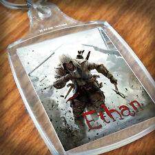 Personalised ASSASSIN'S CREED  KEYRING, Lunch Bag, son daughter grandson Gift