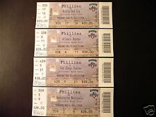 Philadelphia Phillies 2011 Mlb ticket stubs - One ticket