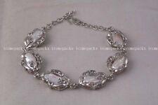"""amazing!  freshwater pearl white biwa bracelet 7.5"""" wholesale beads"""