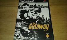 PLAYSTATION 2 PS2 THE GETAWAY ACTION SHOOTER VIDEO GAME BLACK LABEL OG
