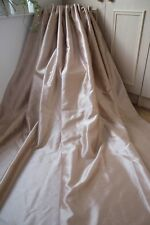 MUSHROOM PAIR CURTAINS,90WX72D,LIGHT MINK,TAPE TOP,LINED,FAUX SILK,SHIMMER,1OF2