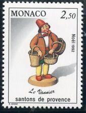 TIMBRE DE MONACO N° 1846 ** NOEL / SANTONS DE PROVENCE / LE VANNIER