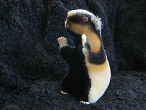 Rare 1959/66 German Steiff Badger ! Diggy !