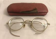 Very Nice Antique 12K Gold Filled Eye Glasses / Spectacles