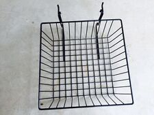 6 pcs Gridwall / Slatwall 12x12x4 Baskets Gridwall Display Fixture