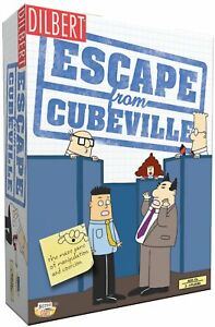 Dilbert Escape From Cubeville Board Game  New & Factory Sealed!
