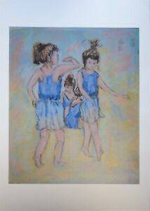A3 Print from Tchaikovsky Arts - Ballet School Dancers - Brighten Up Your Walls!