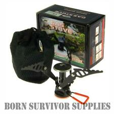 NGT COMPACT FOLDING GAS STOVE - Screw On Portable Pocket Mini Camping Fishing