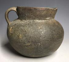 Ancient Native American Brown Red Pottery Salado Mogollon Pre-Historic Vessel