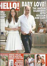 Hello magazine Kate Middleton Prince William Denise Welch Jessica Alba Fabrice