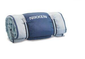 "Nikken Kenko Magnetic 71"" x 41"" Travel Pad Quilt #1270 Fold into Pillow Wellness"