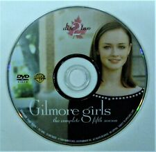(ZERO SCRATCHES) GILMORE GIRLS - SEASON 5 DISC 2 REPLACEMENT DVD DISC ONLY